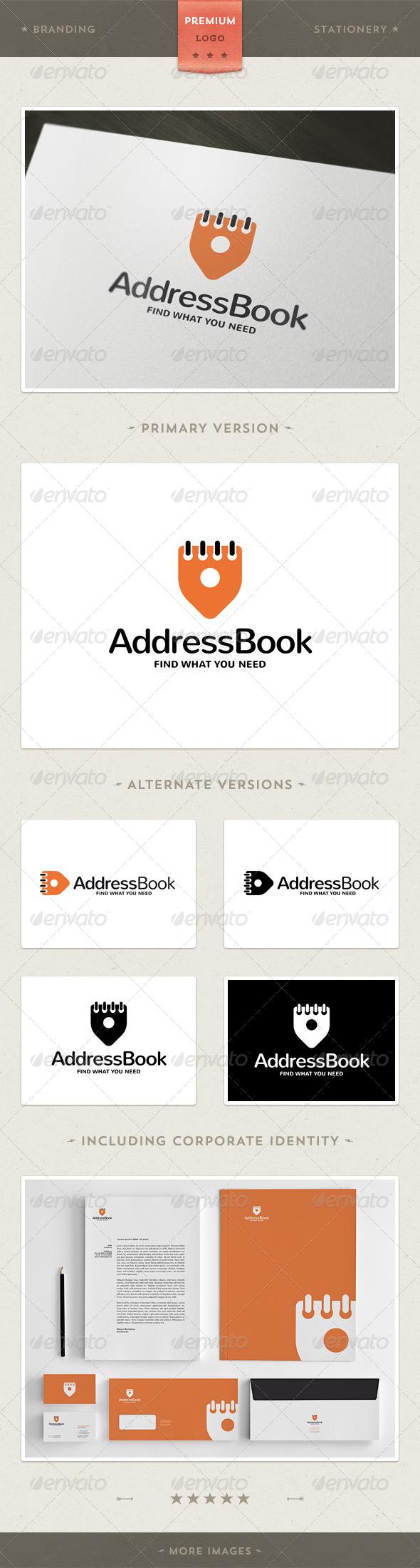GraphicRiver Adress Book Logo & Corporate Identity 4241083