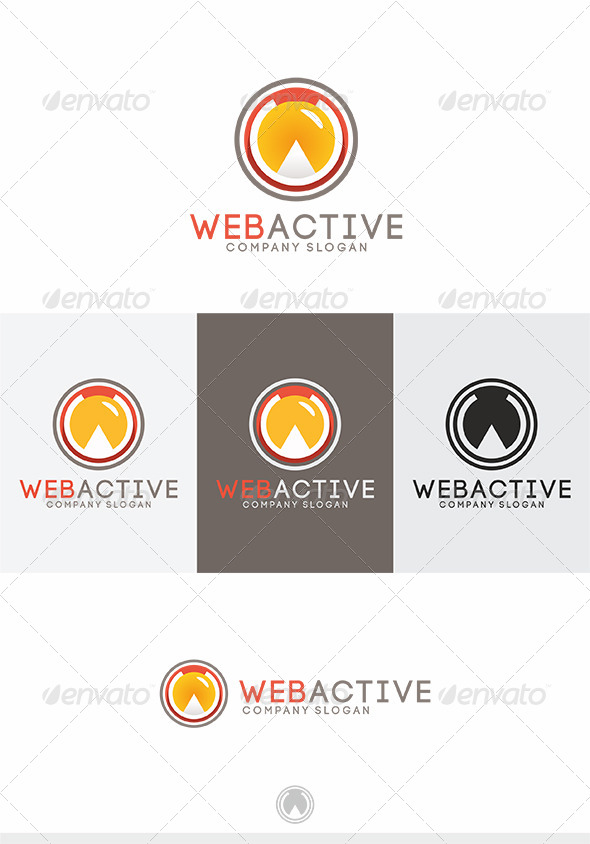 GraphicRiver Web Active Logo 4135219