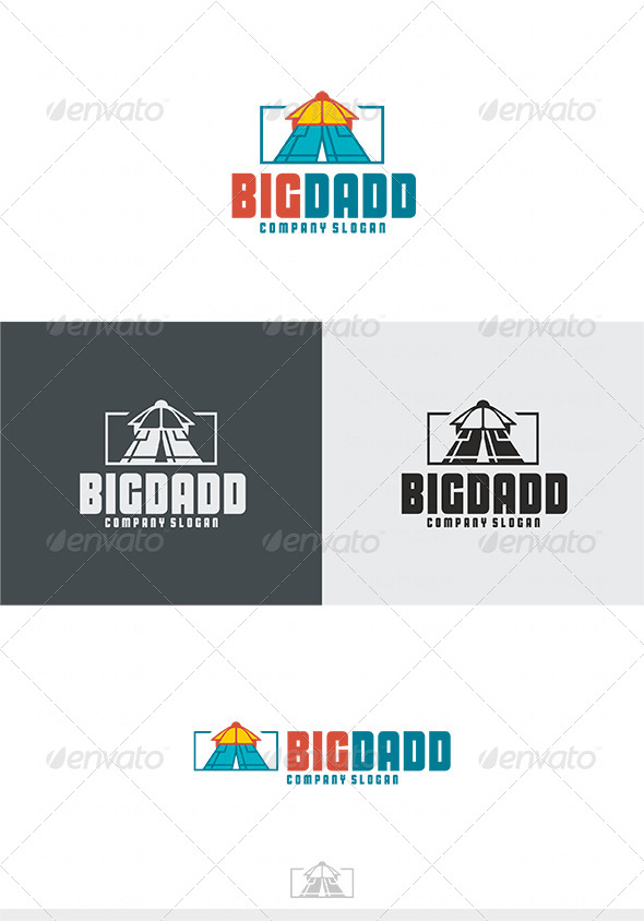 Big Dadd Logo - Humans Logo Templates