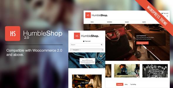 HumbleShop - Minimal WordPress eCommerce Theme - ThemeForest Item for Sale