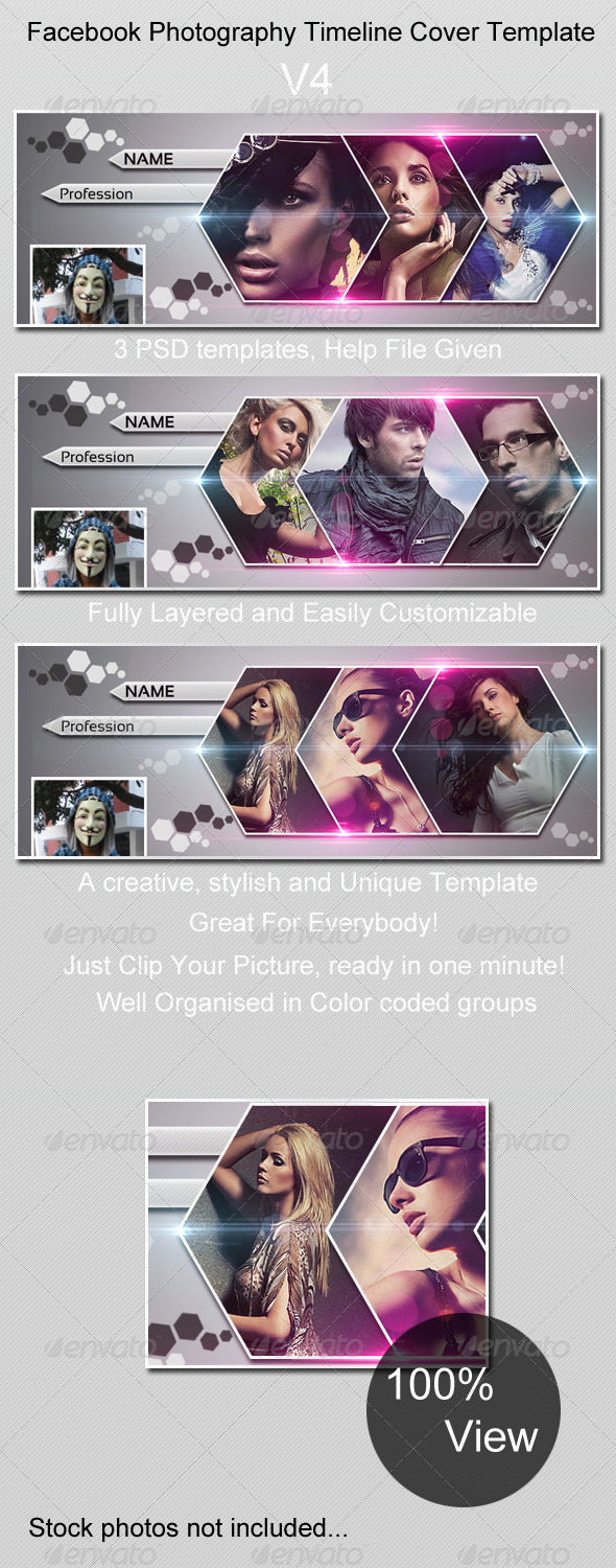 GraphicRiver Photography Timeline Cover V4 4152243