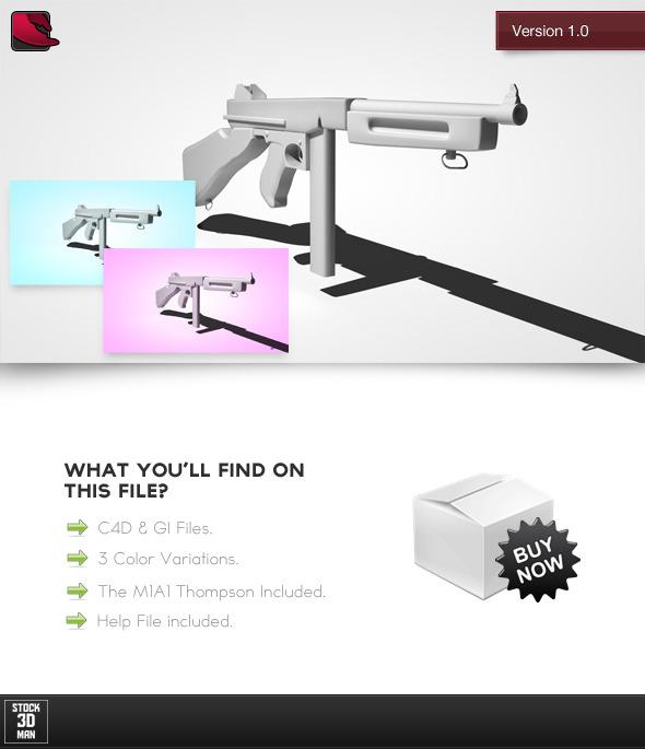 Basic Cinema 4D Render Setup 3 - 3DOcean Item for Sale
