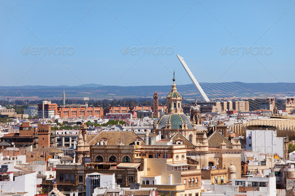PhotoDune City of Seville in Andalusia 4243738
