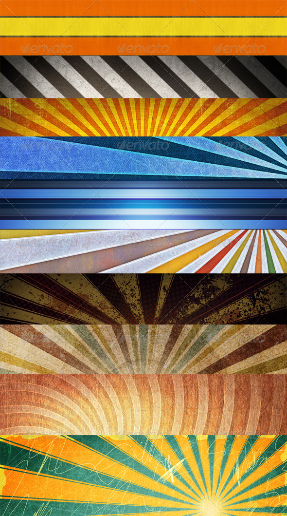 GraphicRiver Rays Backgrounds 4243806