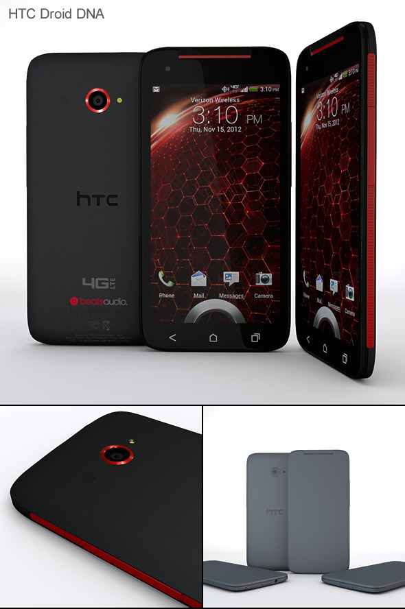 3DOcean HTC Droid DNA 4243842