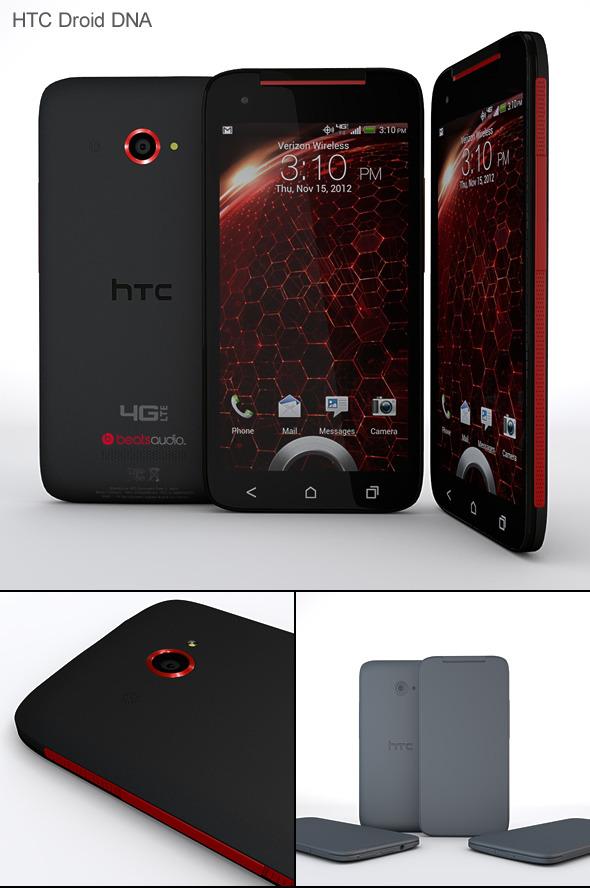 3DOcean HTC Droid DNA 4243842
