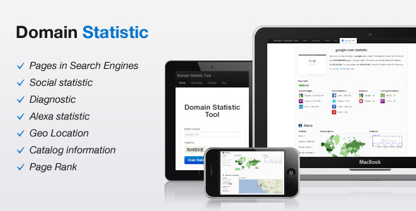 Domain Statistic Tool - CodeCanyon Item for Sale