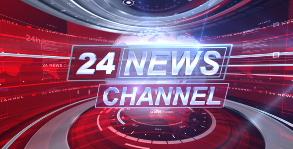 Broadcast Design Complete News Package