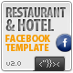Facebook Restaurant & Hotel Template - ActiveDen Item for Sale