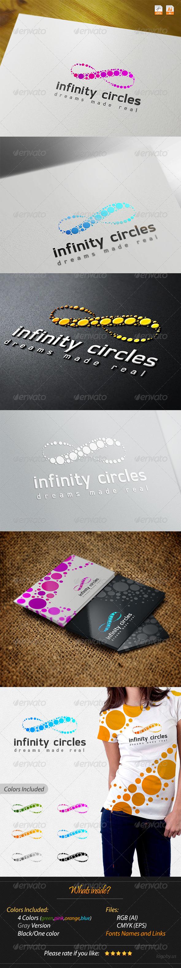 GraphicRiver Infinity Circles Logo 4244700