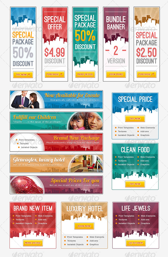 GraphicRiver Banner Town 4163226