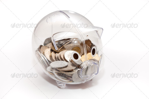 Piggy bank. - Stock Photo - Images