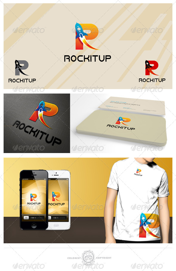 GraphicRiver Rockitup Logo 4148993