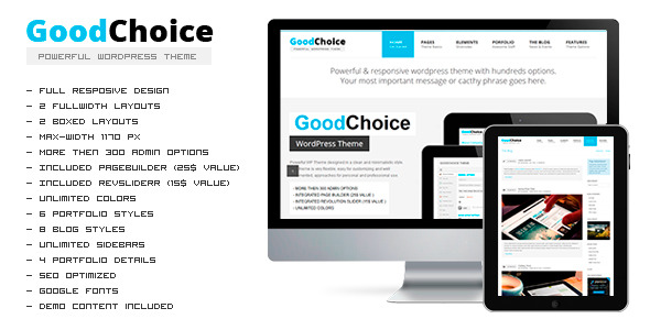 GOODCHOICE - Responsive Multi-Purpose Theme