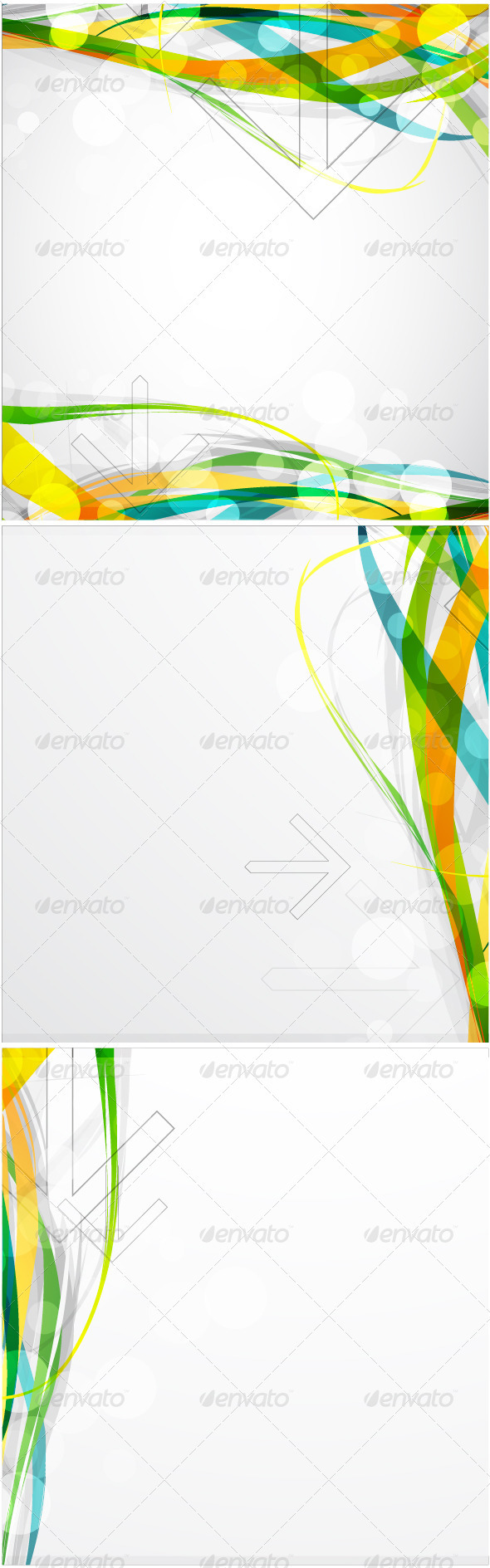 GraphicRiver Colorful waves 459913