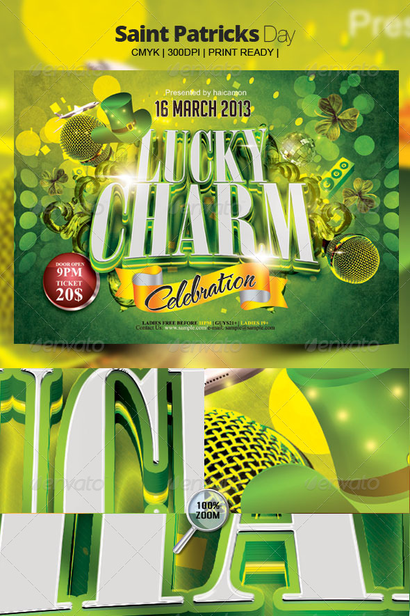 GraphicRiver Saint Patricks Day 4042878