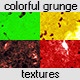 Colorful Grunge Textures - GraphicRiver Item for Sale