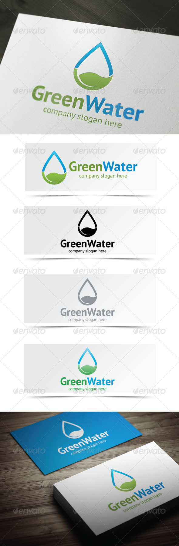 GraphicRiver Green Water 4245679