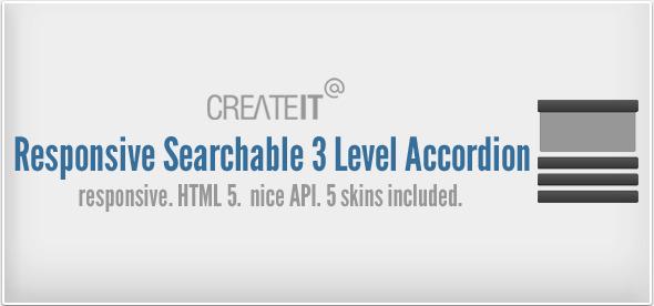 CodeCanyon Responsive Searchable 3 Level Accordion For Wordpress 2674697