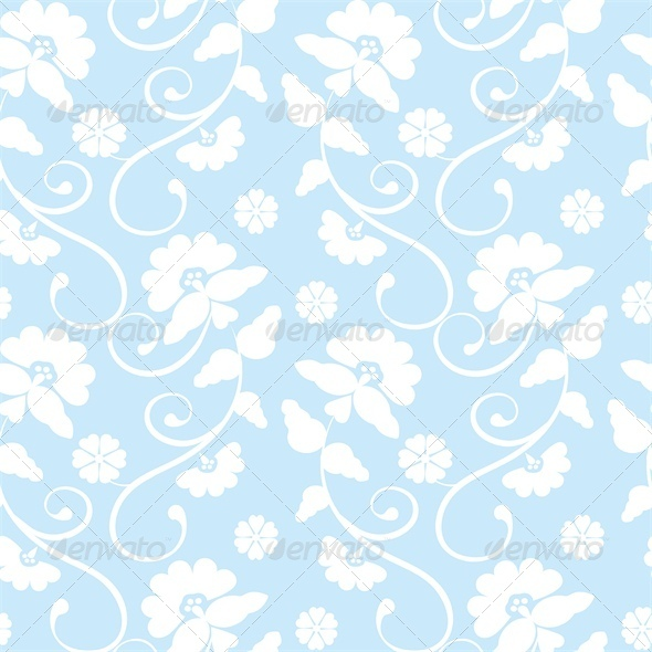 GraphicRiver Floral Seamless Pattern 4245795