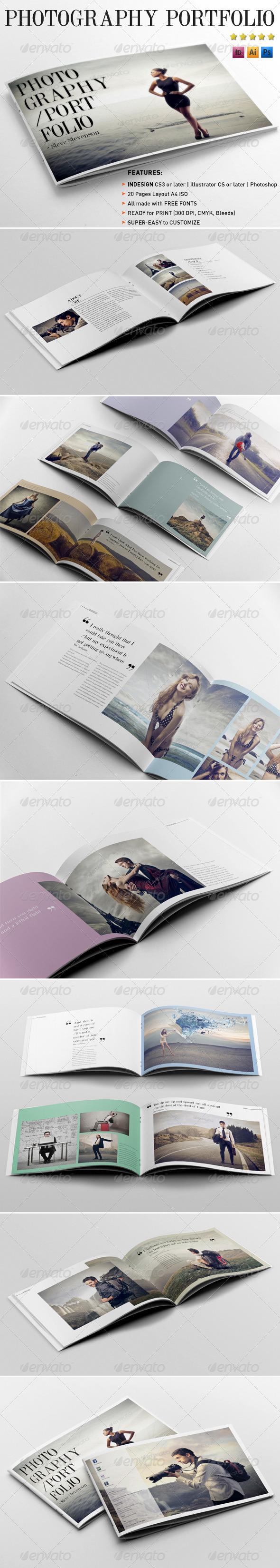GraphicRiver Photography Portfolio Template 4245809