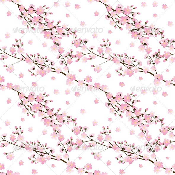 GraphicRiver Spring Seamless Background 4245819