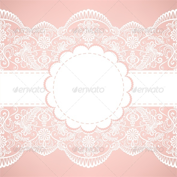 GraphicRiver Template for Wedding Invitation or Greeting Card 4245827