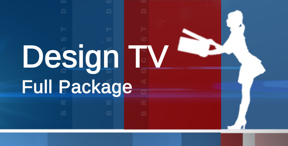 Broadcast Design TV Channel Full Package