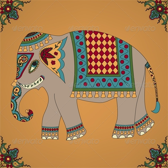 GraphicRiver Indian Elephant 4245861
