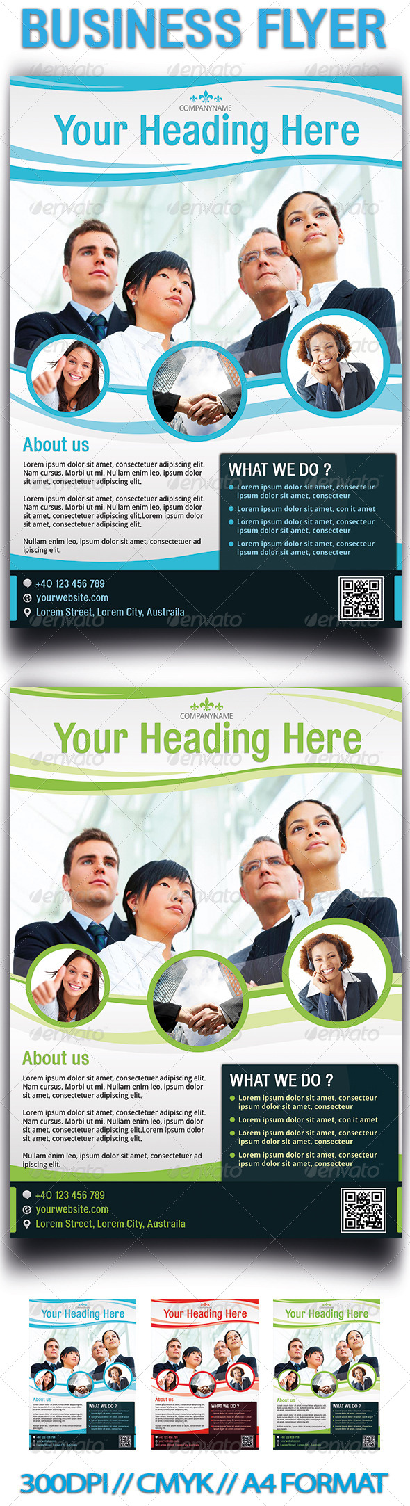 GraphicRiver Business Flyer 3956641