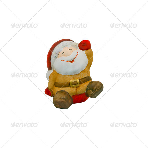 Happy Santa - Stock Photo - Images