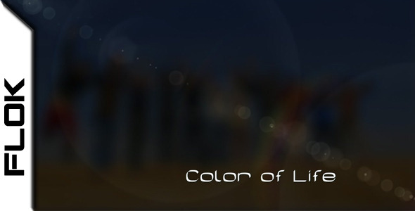 After Effects Project - VideoHive Color of Life 460150