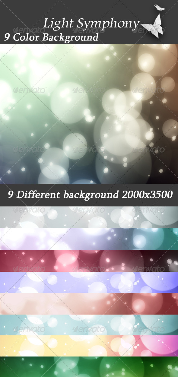 GraphicRiver Light Symphony 4093403