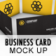 3D Business Card Mock Up - GraphicRiver Item for Sale