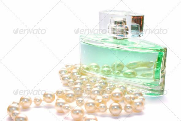 PhotoDune Perfume and necklace 4247584