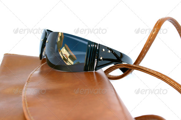 PhotoDune Bag and eyeglasses 4247608