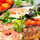 Grilled meat with salad - PhotoDune Item for Sale