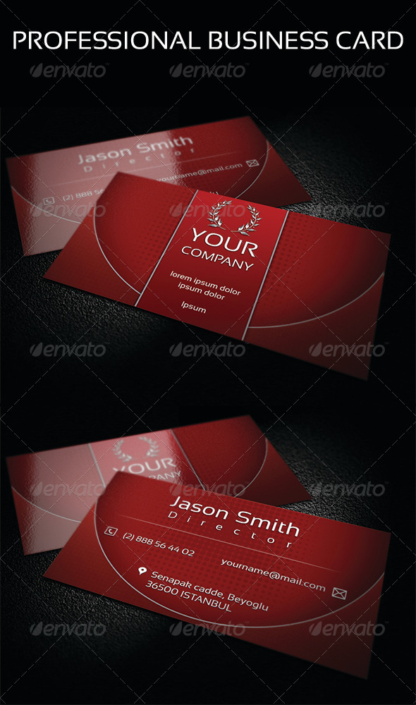 GraphicRiver Business Card 5 4013583