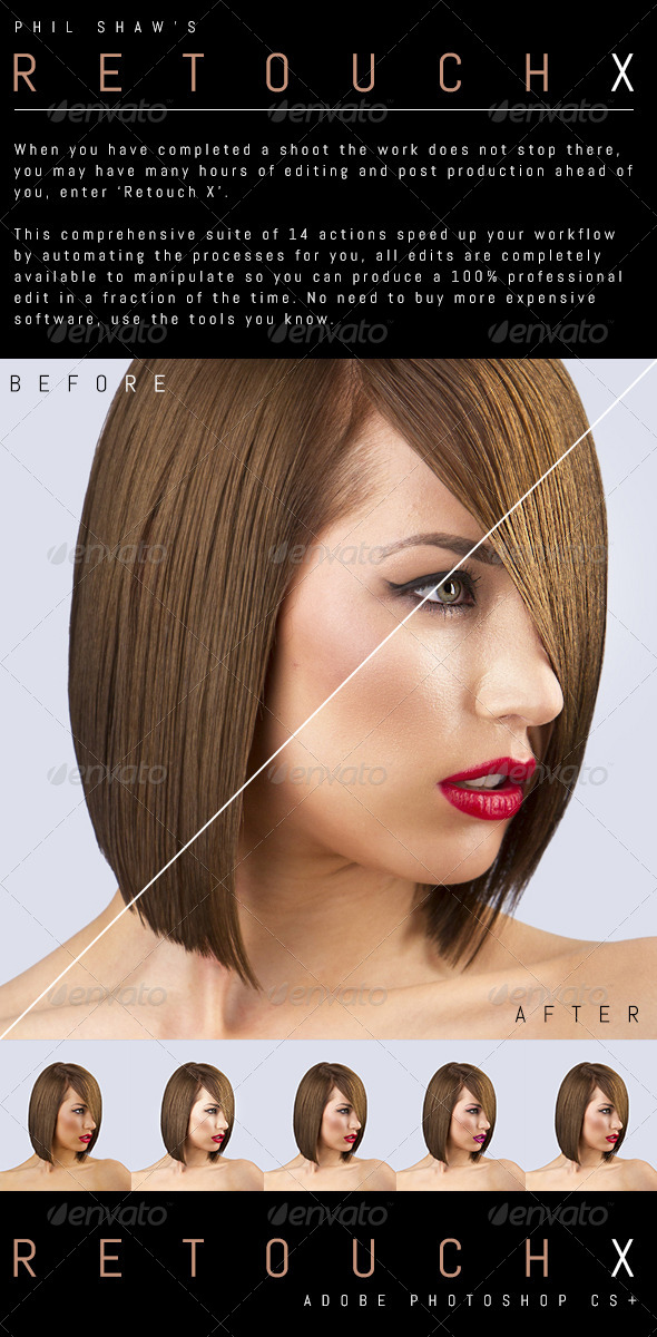GraphicRiver Retouch X Commercial Retouching Pack 4248719