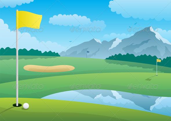 GraphicRiver Golf Course 460380