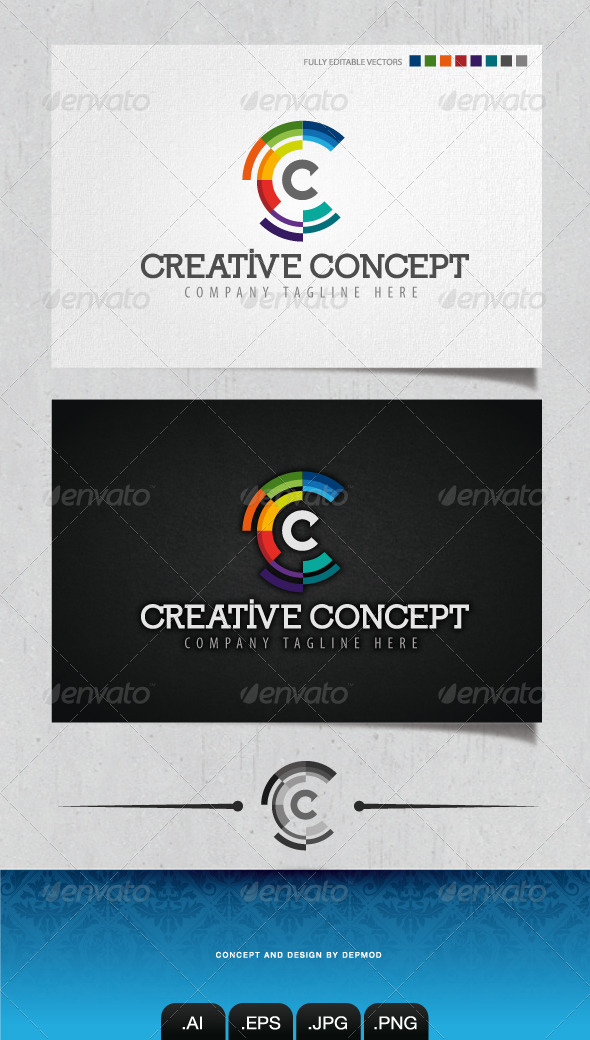 GraphicRiver Creative Concept Logo 4248793