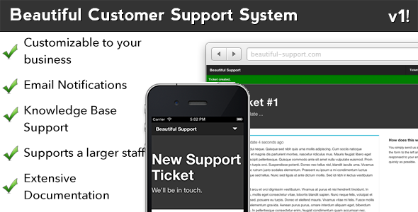 CodeCanyon Beautiful Customer Support and Article System 4249006