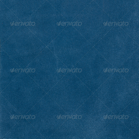 Blue leather texture - Stock Photo - Images
