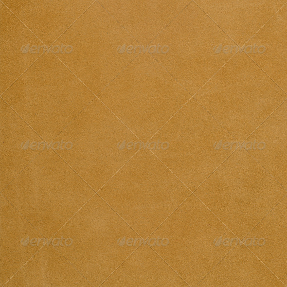 Yellow leather background - Stock Photo - Images