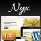 Nyx Responsive Church WordPress Theme  Free Download
