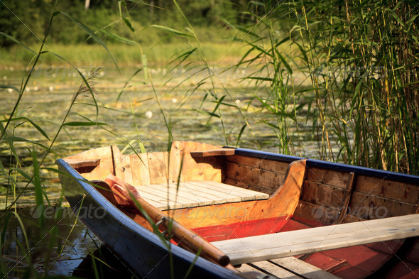 Rowing Boat - Stock Photo - Images