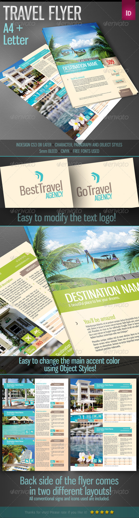 GraphicRiver Travel Flyer 4063199