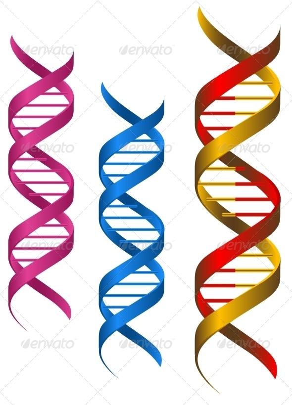 DNA Elements - Health/Medicine Conceptual