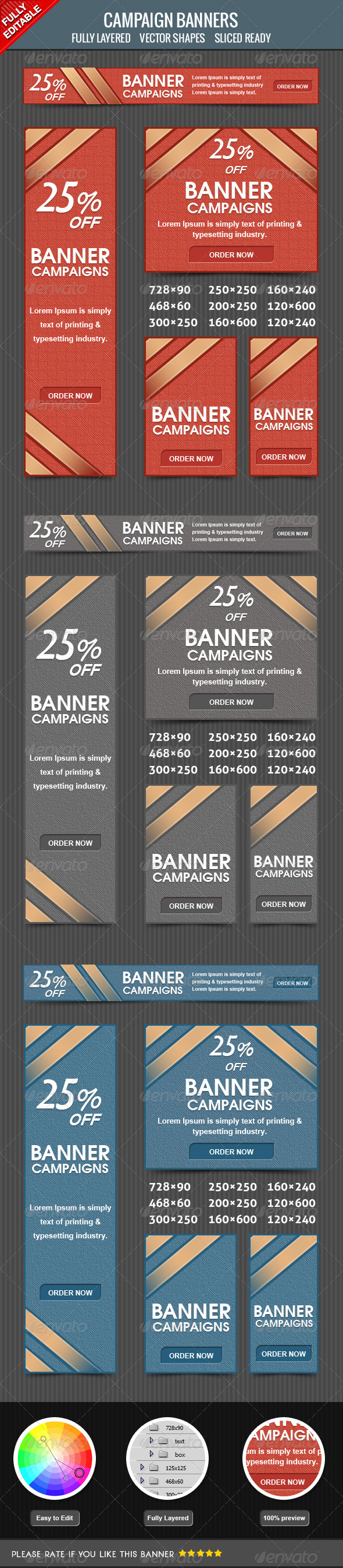 GraphicRiver Campaign Banners 4176337