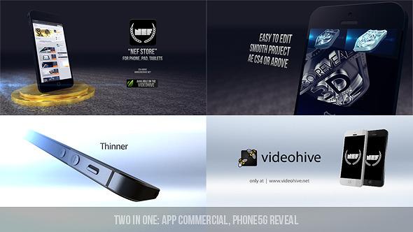 App Commercial & Phone 5G Reveal